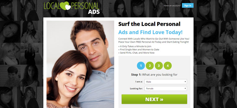 Local personals ads