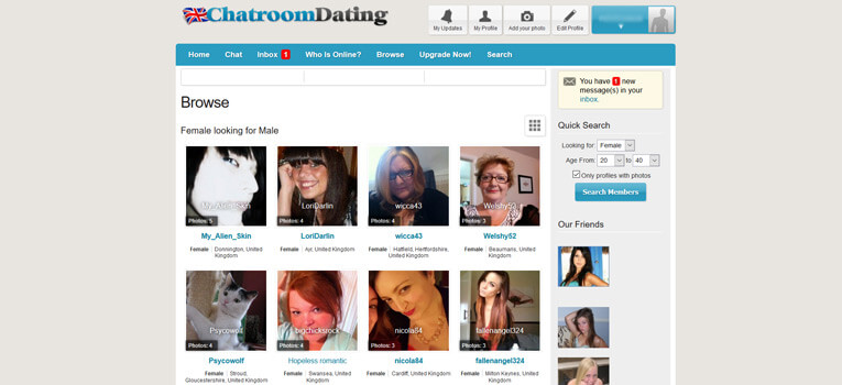 Chatroom Dating
