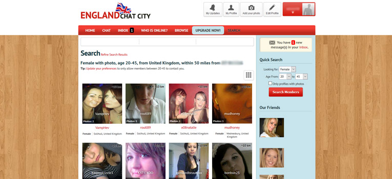England Chat City