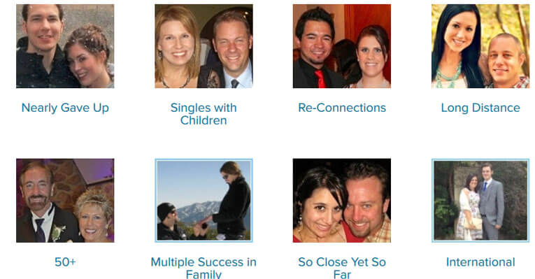 eHarmony Features